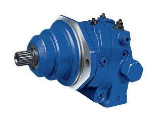 """R902006806-R902218823 - Motor Axial de Pistão Variável """"Plug""""- Modelo A6VE- Série 63- Tamanho 55cm³"""