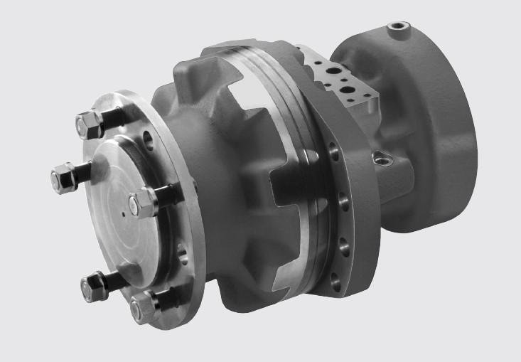R921811058 - Motor Radial de Pistão - Modelo MCR- Série 32- Frame 10- Tamanho 940cm³