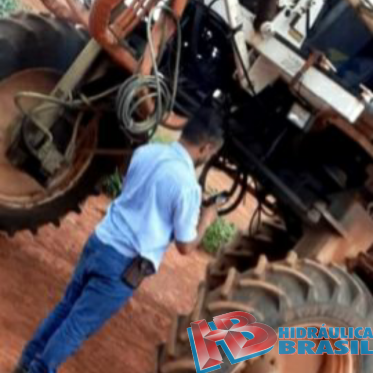 Manutenção em máquinas agrícolas